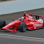 Dario Franchitti during Friday's Indianapolis 500 practice. (IndyCar Photo)