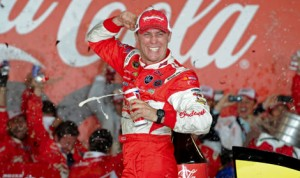 Kevin Harvick scored his second victory in the Coca-Cola 600 last year at Charlotte Motor Speedway. (NASCAR Photo)
