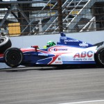 Conor Daly crashed during Thursday's Indianapolis 500 practice. He was uninjured. (IndyCar Photo)