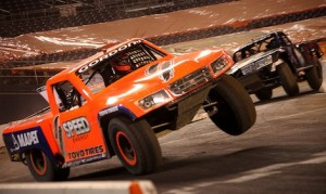 Robby Gordon's SPEED Energy Stadium Super Trucks have a new name. It will now be called the  SPEED Energy Formula Off-Road Series.