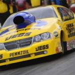 Jeg Coughlin Jr. scored his first NHRA Pro Stock triumph of 2013 during last Sunday's Kansas Nationals at Heartland Park Topeka. (Ivan Veldhuizen Photo)