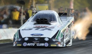 Castrol will end its sponsorship of John Force Racing after the 2014 season. (NHRA photo)