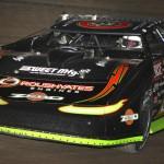 Scott Bloomquist drove to his sixth Dream late model victory Saturday night at Ohio's Eldora Speedway. (Jeremy Rhodes photo)