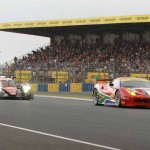 More practice action from Wednesday's 24 Hours of Le Mans opening practice. (Pete Richards Photo)