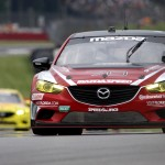 The No. 70 Mazda6 shared by Tom Long and Sylvain Tremblay claimed the GX class victory during Saturday's Grand-Am Rolex Sports Car Series event at the Mid-Ohio Sports Car Course. (Doug Day Photo)