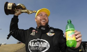 Shawn Langdon is hoping to lock up his first NHRA Top Fuel crown. (NHRA Photo)