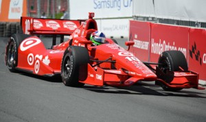 Dario Franchitti finished 10th in the standings in his final season in the IndyCar Series. (Al Steinberg Photo)