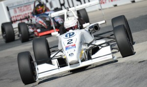 Neil Alberico performed well in the 2013 USF2000 Championship Series. (Al Steinberg Photo)