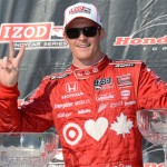 Scott Dixon scored his third-straight IZOD IndyCar Series victory Sunday at Exhibition Place to complete a weekend sweep in Toronto. (Al Steinberg Photo)