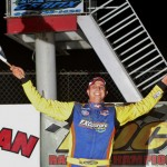 Matt Sheppard won the Race of Champions modified feature at New York's I-88 Speedway. (Dave Dalesandro photo)
