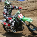 Ryan Villopoto during Saturday's Lucas Oil Pro Motocross event at Moto-X 338 in Southwick, Mass. (Dick Ayers Photo)