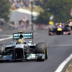 Lewis Hamilton leads Sunday's Hungarian Grand Prix. (Steve Etherington Photo)