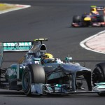 Lewis Hamilton during Sunday's Hungarian Grand Prix. (Steve Etherington Photo)