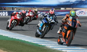 The Superbikes and Sportbikes will return to Miller Motorsports Park in Tooele, Utah, in 2014. (AMA Pro Racing/Brian J. Nelson Photo)