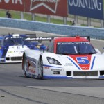The No. 5 Action Express Racing Corvette DP will be shared by Joao Barbosa and Christian Fittipaldi again in 2014. (Dennis Bicksler Photo)