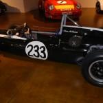 Steve McQueen's Cooper T-52 Formula Junior at Canepa Design in Scotts Valley, Calif. (Ralph Sheheen Photo)