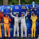 The class winners from Saturday's Grand-Am Rolex Sports Car Series race at Road America. (Grand-Am Photo)