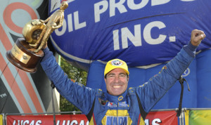 Ron Capps scored his third NHRA Funny Car victory of 2013 at Brainerd (Minn.) Int'l Raceway on Sunday. (NHRA Photo)