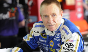 Mark Martin will drive the No. 14 Stewart-Haas Racing Chevrolet in 12 of the final 13 Sprint Cup events of the year. (NASCAR Photo)