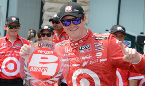 Scott Dixon claimed the pole for Sunday's IZOD IndyCar Series Grand Prix of Baltimore. (Al Steinberg Photo)