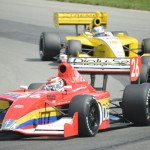 Carlos Munoz (26) during Sunday's Firestone Indy Lights event at the Mid-Ohio Sports Car Course. (Al Steinberg Photo)