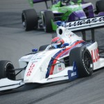 Jack Hawksworth during Sunday's Firestone Indy Lights event at the Mid-Ohio Sports Car Course. (Al Steinberg Photo)