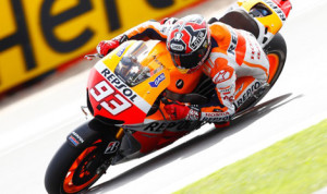 Marc Marquez earned his fifth MotoGP pole of 2013 on Saturday at the Silverstone Circuit. (MotoGP Photo)