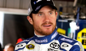 Brian Vickers will drive the Michael Waltrip Racing No. 55 for 12 of the final 13 Sprint Cup events in 2013. (NASCAR Photo)