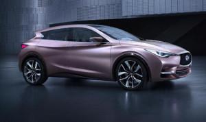 The new Infiniti Q30 Concept