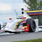 Gabby Chaves scored his first Firestone Indy Lights race at the Mid-Ohio Sports Car Course on Sunday. (Dave Heithaus Photo)