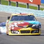 Kyle Busch during Sunday's NASCAR Sprint Cup Series race at Watkins Glen (N.Y.) Int'l. (Joe Proietti Photo)
