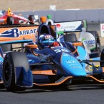 J.R. Hildebrand returned to the IZOD IndyCar Series in the No. 98 entry Sunday at Sonoma (Calif.) Raceway. (Tom Parker Photo)