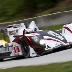 The No. 6 Muscle Milk Pickett Racing entry shared by Klaus Graf & Lucas Luhr was the class of the field during Sunday's American Le Mans Series race at Road America. (Shawn Mueller Photo)