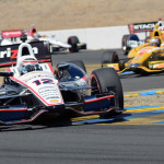Will Power scored his first victory of the season Sunday in the IZOD IndyCar Series at Sonoma (Calif.) Raceway. (Jerry Jones Photo)
