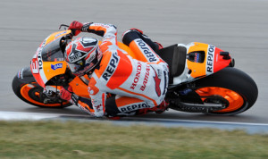 Marc Marquez completed a dominant weekend with another MotoGP victory Sunday at Indianapolis Motor Speedway. (Dave Heithaus Photo)