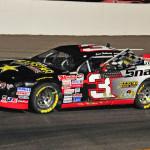 Jason Hathaway won Saturday's NASCAR Canadian Tire Series race at Riverside Int'l Speedway. (Ken MacIsaac Photo)