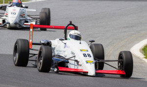 Tim Minor (88) completed a weekend sweep in F2000 Championship Series competition at Summit Point (W.Va.) Motorsports Park Sunday. (Valet Photo)