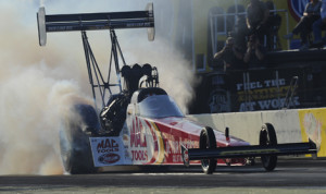 Doug Kalitta heads to the Texas Motorplex hoping to score a victory that will get him into the thick of the Top Fuel championship hunt. (NHRA Photo)