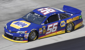 NAPA Auto Parts will end its sponsorship agreement with Michael Waltrip Racing at the end of 2013. (HHP/Harold Hinson Photo)