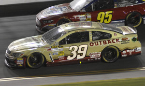 Outback Steakhouse will continue its partnership with Stewart-Haas Racing next season. (HHP/Rusty Jarrett Photo)