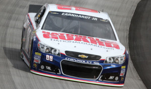 Dale Earnhardt Jr. has earned the pole for Sunday's AAA 400 at Dover (Del.) Int'l Speedway. (HHP/Christa Thomas Photo)