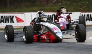Tim Kautz won Saturday's Formula F race during the SCCA Runoffs at Road America. (Shaun Lumley/SCCA photo)
