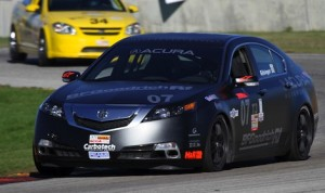 Chad Gilsinger captured the Touring 3 national title Sunday morning at Road America. (Shaun Lumley/SCCA photo)