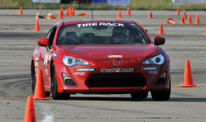Andrew Pallotta currently holds the opening day lead in Street Touring Xtreme during the Tire Rack SCCA Solo National Championships. (Rupert Berrington Photo)