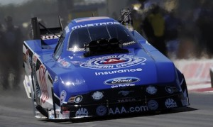 Robert Hight was the No. 1 Funny Car qualifier Saturday at the Texas Motorplex. (NHRA photo)