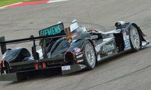 The Level 5 Motorsports HPD ARX-03b topped the speed charts during American Le Mans Series testing at Circuit of the Americas. (Dan R. Boyd/ALMS Photo)