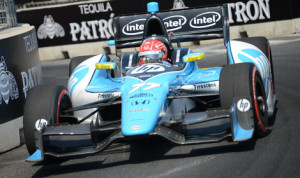 Simon Pagenaud won Sunday's IZOD IndyCar Series race in Baltimore, but the real drama centered around Will Power and Scott Dixon. (Al Steinberg Photo)