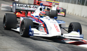 Jack Hawksworth dominated Sunday's Firestone Indy Lights race in Baltimore, Md. (Al Steinberg Photo)