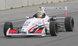Scott Hargrove won Sunday's USF2000 event at Mazda Raceway Laguna Seca. (USF2000 Photo)