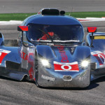 The DeltaWing Coupe made its debut during Saturday's American Le Mans Series race at Circuit of the Americas. (Doug Day Photo)